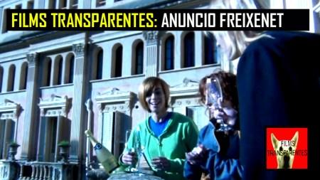 FILMS TRANSPARENTES ANUNCIO FREIXENET