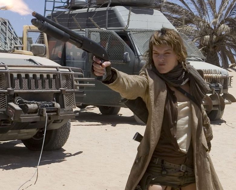 Resident Evil: Extinction is a Dusty Mess
