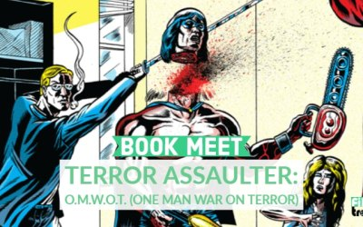 Book Meet: Terror Assaulter: O.M.W.O.T by Benjamin Marra