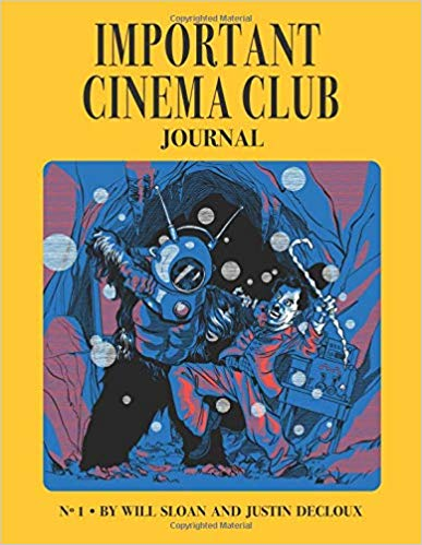 The Important Cinema Club Journal Cover