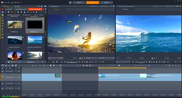 Pinnacle Studio 22 Plus and Ultimate - Three- and Four-Point Editing