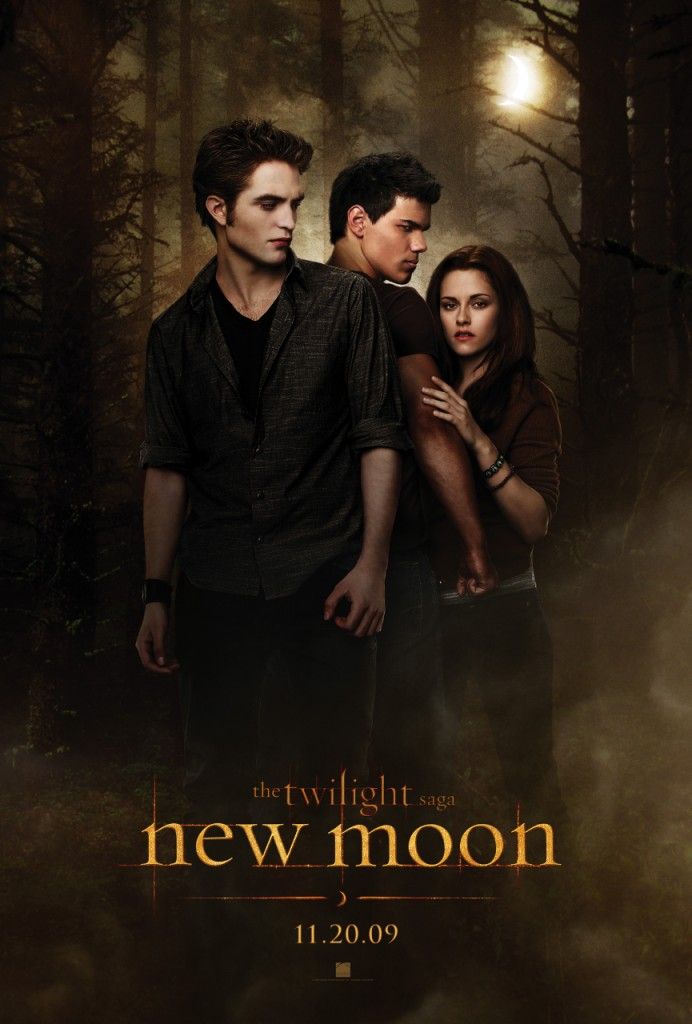 """Poster for Chris Weitz' """"New Moon""""."""