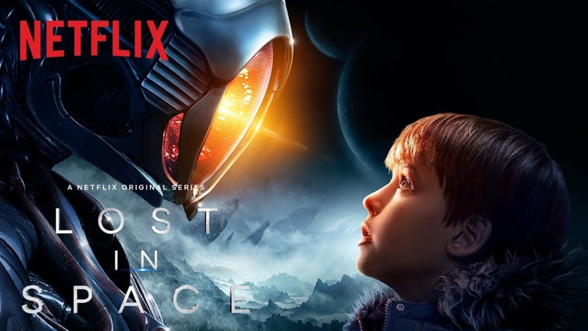 Lost in space Will Robinson and Robot