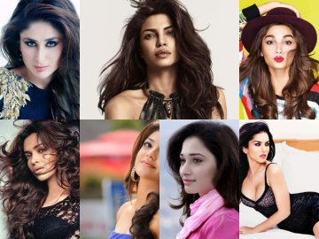 Most Searched Bollywood Actresses In 2016