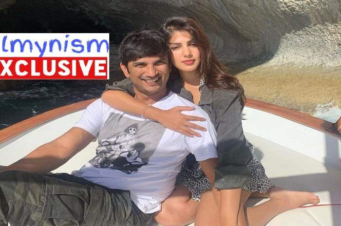 Sushant Singh Rajput and Rhea Chakravorty
