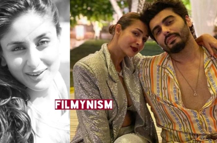 Malaika Arora with Arjun Kapoor on Kareena Kapoor-Filmynism