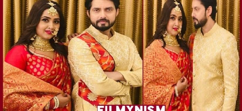 Vikrant Singh and Kajal Raghwani in Ishq-Filmynism