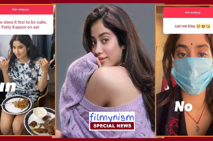 Janhvi Kapoor Viral on Social Media-Filmynism