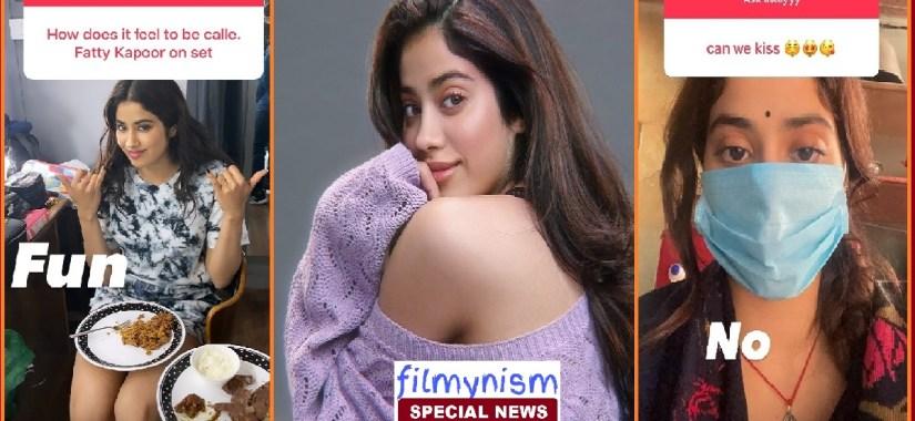 Janhvi Kapoor Viral on Social Media-Filmynism