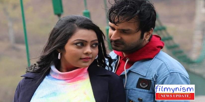 Sanjana Raj and Kunal Tiwari in Naihar Ke Chunari-Filmynism