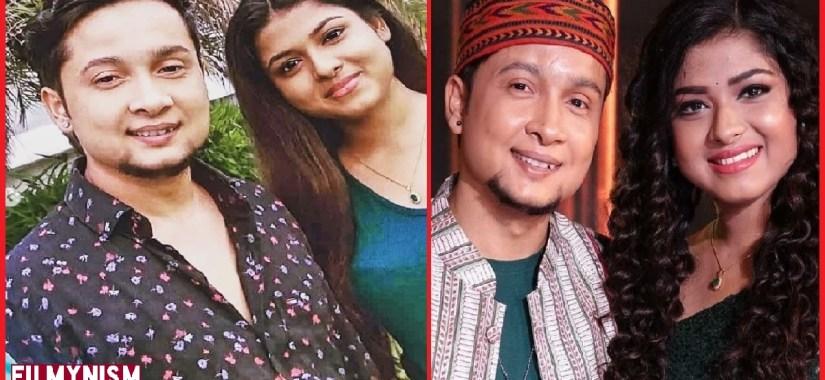 Arunita and Pawandeep in Indian Idol-Filmynism