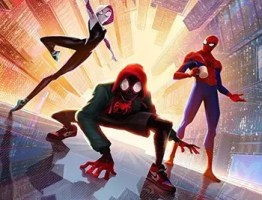 Spider-Man Into the Spider-Verse 2018 Dual Audio Hindi BluRay 480p 350MB ESubs 2