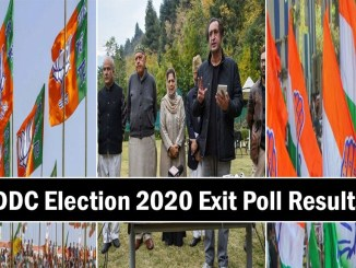 Exit poll of DDC elections Jammu and Kashmir