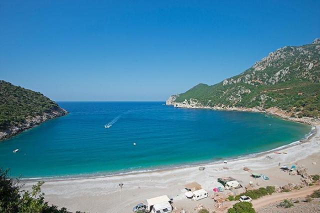 παραλία Τσίλαρος, Εύβοια