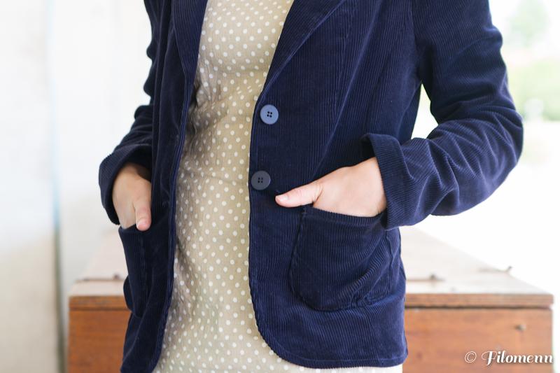 veste en velours - Filomenn - La Mia Boutique