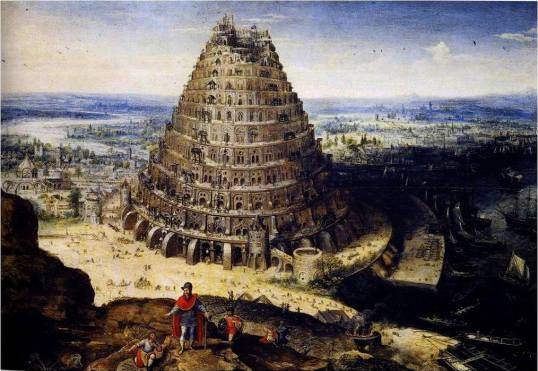 Lucas van Valckenborch, The Tower of Babel, 1594