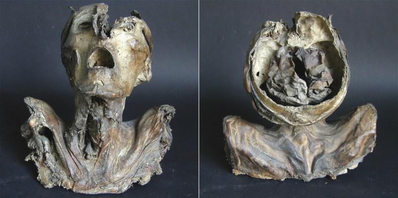 Múmia recentememnte encontrada datando do século XIII (a mais antiga dissecação encontrada)