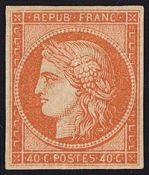 FRANCIA, CERES 1849