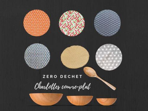 Charlottes couvre-plat divers coloris