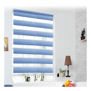Azure blue window bind