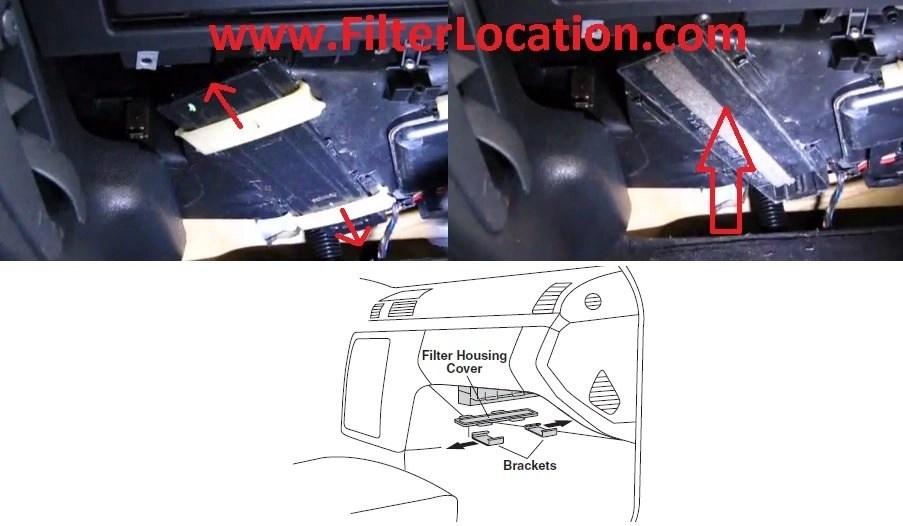 F150 Cabin Air Filter Location