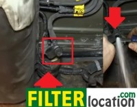 Chevy TrailBlazer fuel filter location and replacement