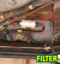 diy change the fuel filter on pontiac sunfire 1995 2005 [ 1319 x 893 Pixel ]
