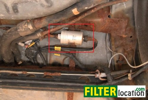 small resolution of diy change the fuel filter on pontiac sunfire 1995 2005