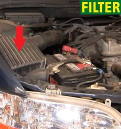 2 how to replace the air filter  [ 1083 x 732 Pixel ]