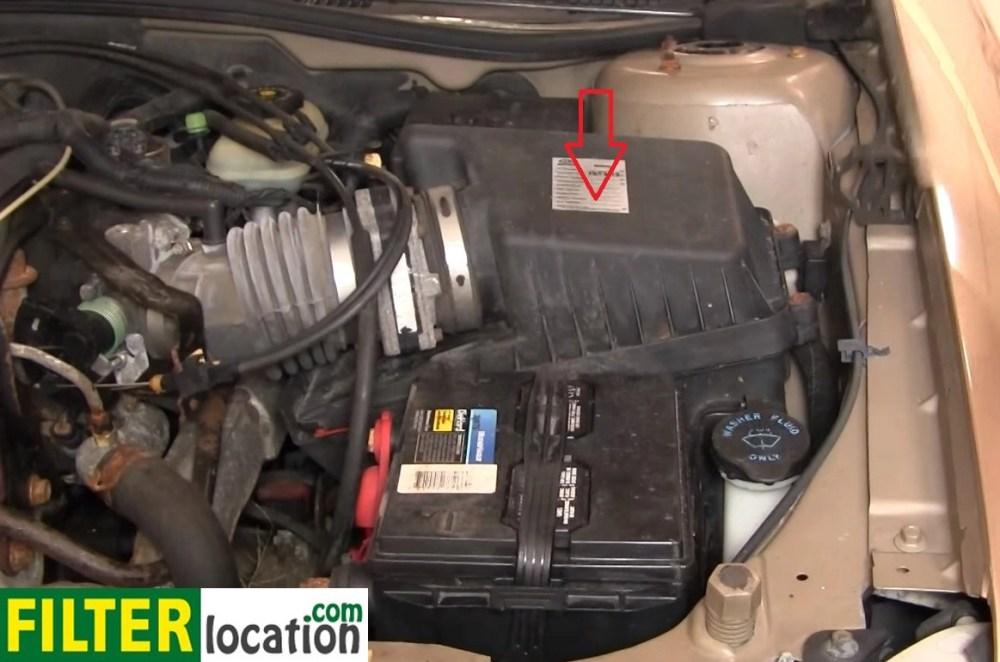 medium resolution of 2005 chevy cobalt fuel filter location