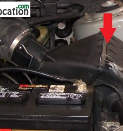 how to change the air filter on mercury sable 2000 2005 3 0l v6  [ 1167 x 677 Pixel ]