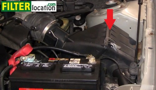 small resolution of how to change the air filter on mercury sable 2000 2005 3 0l v6