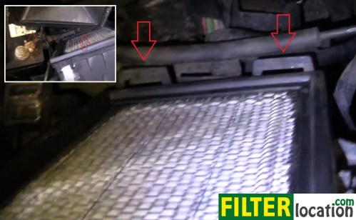 small resolution of  but make sure the two tabs at the bottom of the side with the intake hose are aligned and will enter the slots on the side containing the filter