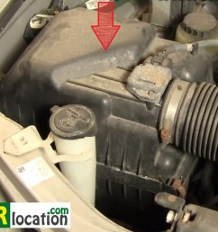 how to change the engine air filter on your toyota sequoia 2001 2004  [ 1369 x 907 Pixel ]