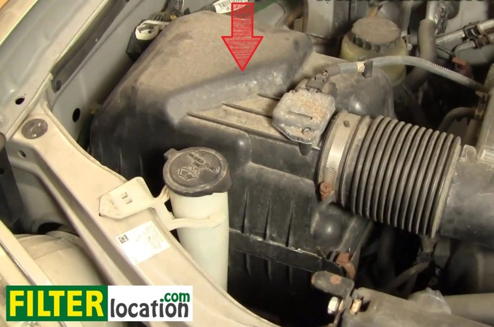 medium resolution of how to change the engine air filter on your toyota sequoia 2001 2004