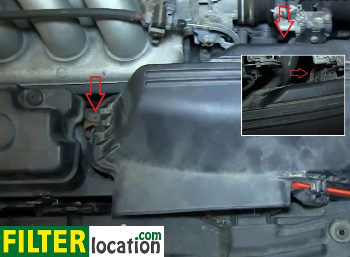 hight resolution of you will not be able to lift the lid until you disconnect the mass air flow sensor and loosen the clamp that holds the intake hose you can use a 10 mm