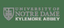 Logo University of Notre Dame Kylemore Abbey