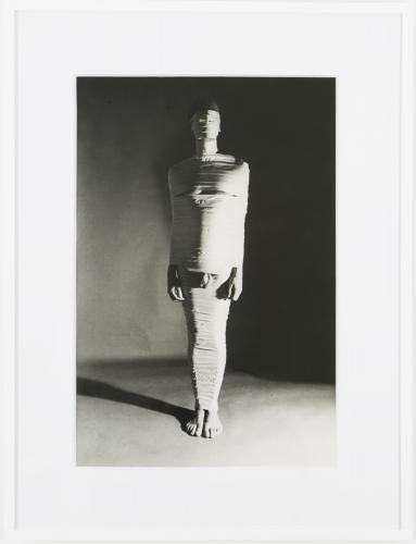 Jimmy DeSana, Masking Tape, 1978, black and white gelatin