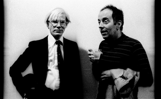 Warhol and Mead, 1975