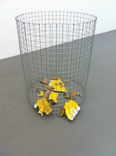 Roman Signer, 'Explosion of A Box' (all images courtesy the artist and Swiss Institute, New York)