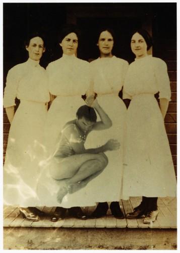 Robert Flynt, untitled (BK; 4 sisters), 2002, unique-image chromogenic photograph