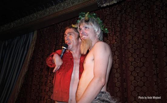Mat Fraser and James Habacker from the Slipper Room