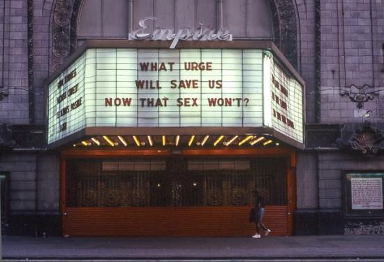The Empire Theater (All photos © Gregoire Alessandrini; via his website, New York City 1990's)