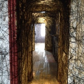 """Call From The Past: Chiharu Shiota's """"Trace of Memory"""" at the Mattress Factory"""