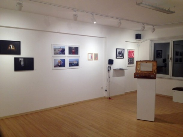 In Exile at Space Debris (Installation View)