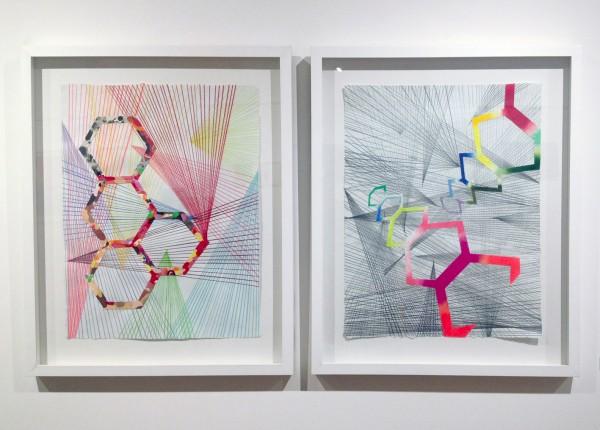 Zdravko Toic's Untitled diptich