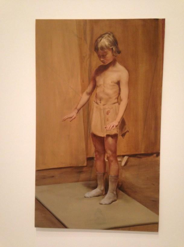 The Wooden Skirt, Michaël Borremans, 2011