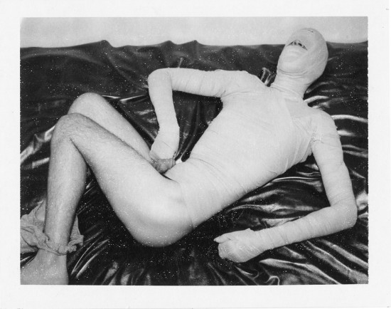 Benjamin Fredrickson, Bandages, 2007, Polaroid (all images © Benjamin Fredrickson and Daniel Cooney Fine Art, New York)