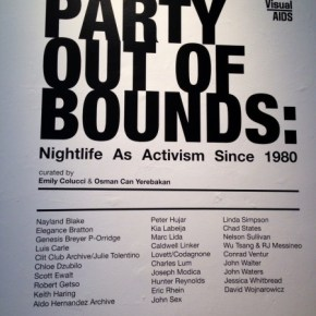 Mama Does Party Out Of Bounds: Nightlife As Activism Since 1980