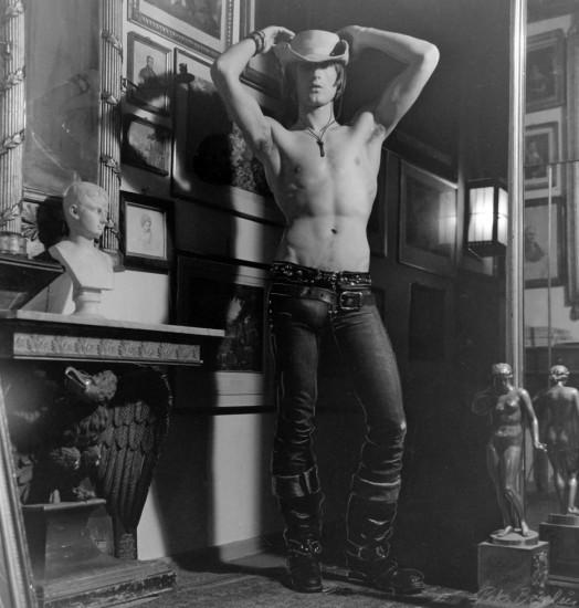 Peter Berlin, Self Portrait as Urban Cowboy, c. 1970s, Vintage gelatin silver print